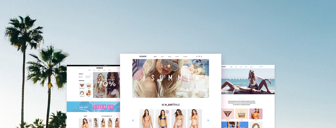 Leo Swimwear - PrestaShop Fashion Template