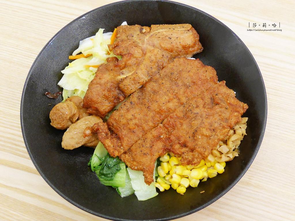 台北士林不限時餐廳梁社漢排骨 好吃便當雞腿飯外帶推薦分享食記 (3)