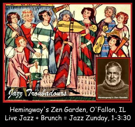 Jazz Troubadours Sunday
