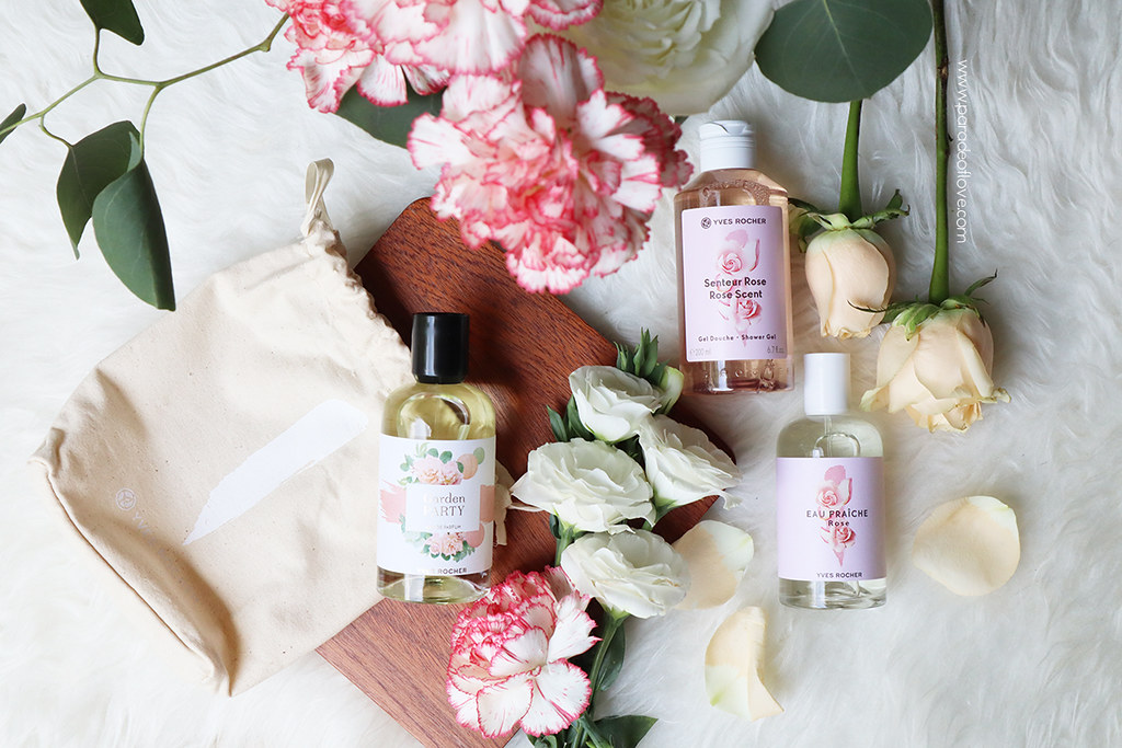 Yves Rocher Garden Party & Eau Fraiche Rose