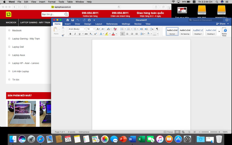 [MacOs] Video hướng dẫn cài đặt Microsoft Office 2016 FullCrack cho Macbook 8