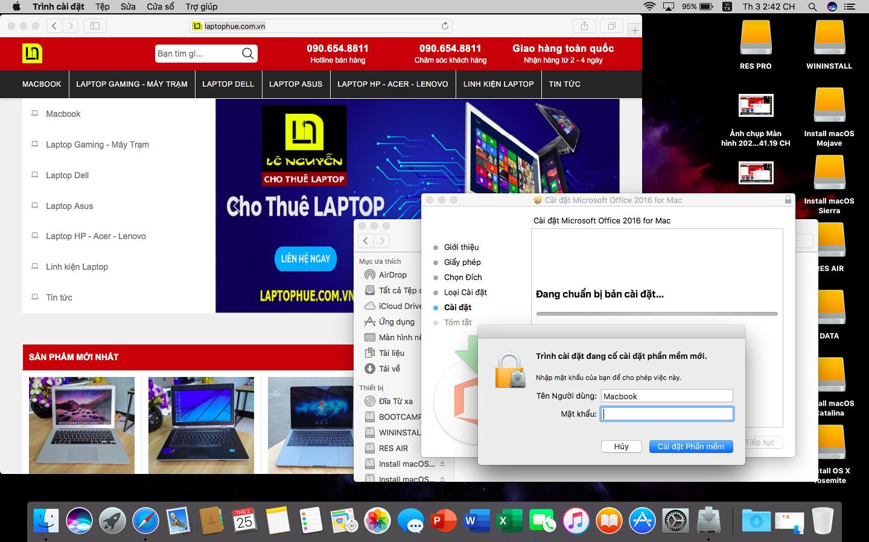 [MacOs] Video hướng dẫn cài đặt Microsoft Office 2016 FullCrack cho Macbook 5