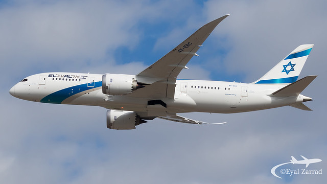 TLV - El Al Boeing 787-8 4X-ERC