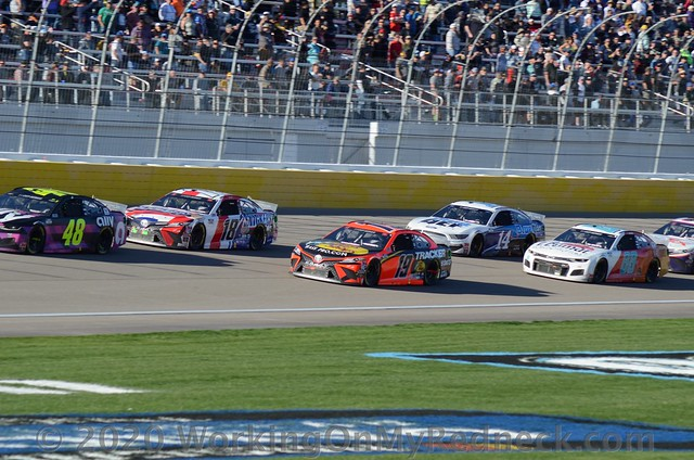 Jimmie Johnson, Kyle Busch, Martin Truex, Jr., Clint Bowyer & Alex Bowman