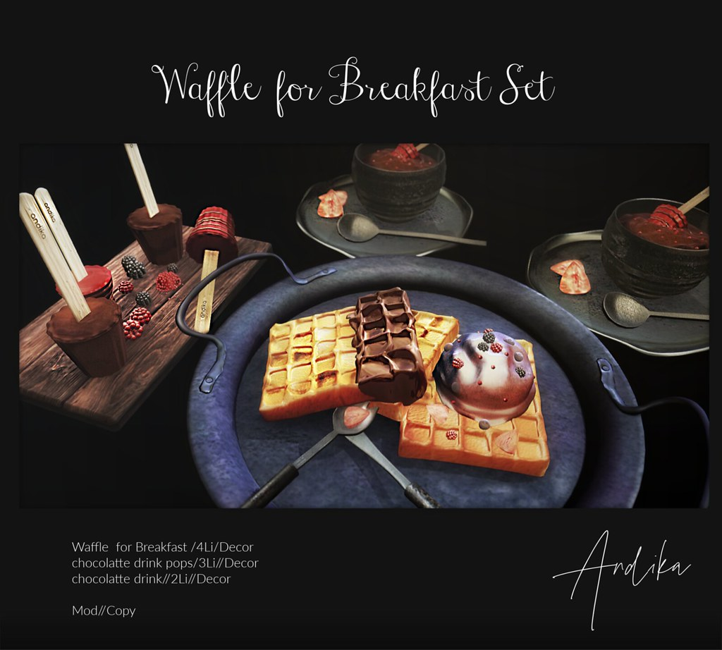 andika[Waffle for Breakfast]Set @Uber
