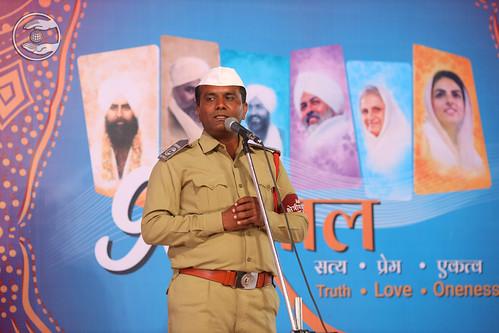 Sewadal volunteer expresses his views