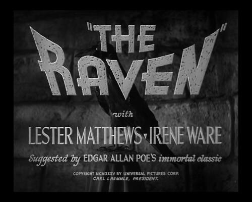 Title still du film Le Corbeau (Lew Landers, 1935)