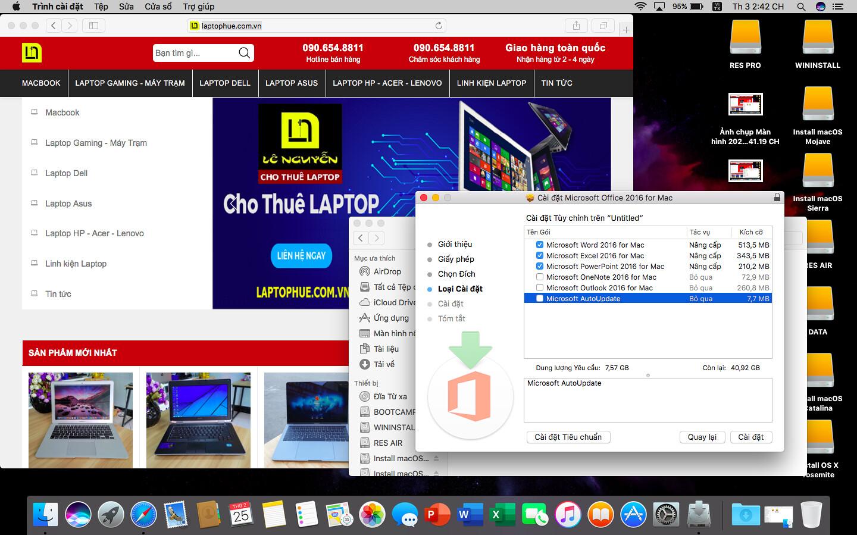 [MacOs] Video hướng dẫn cài đặt Microsoft Office 2016 FullCrack cho Macbook 4