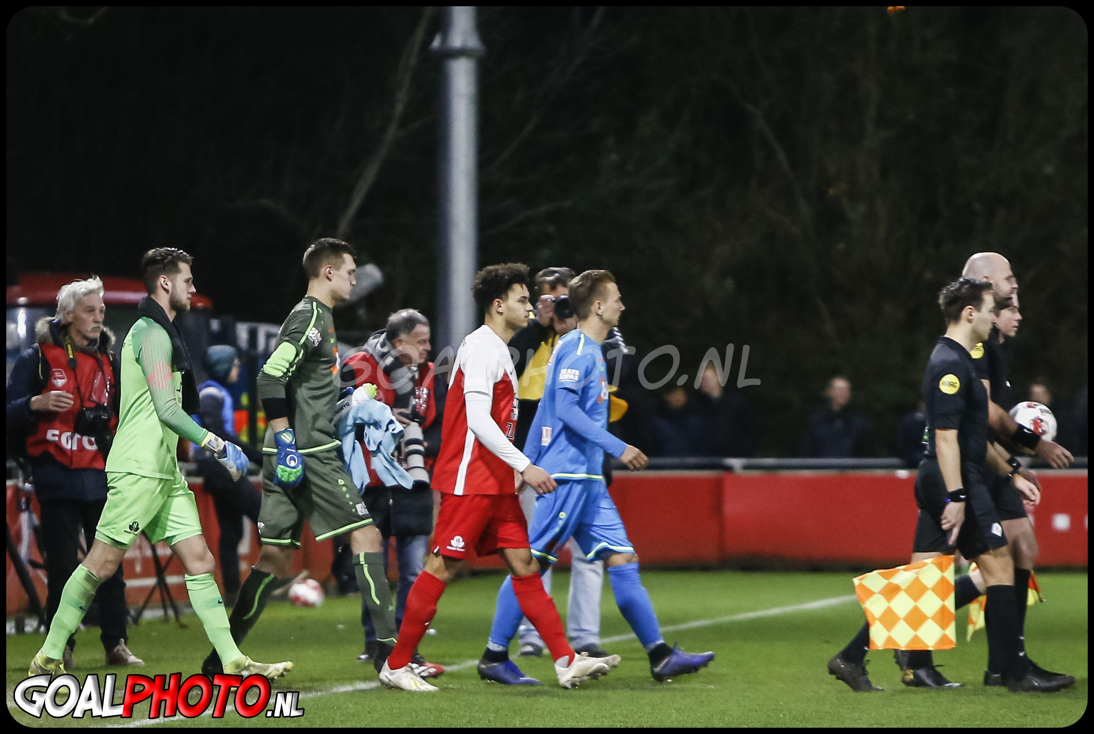 Jong FC Utrecht - Volendam 24-03-2020