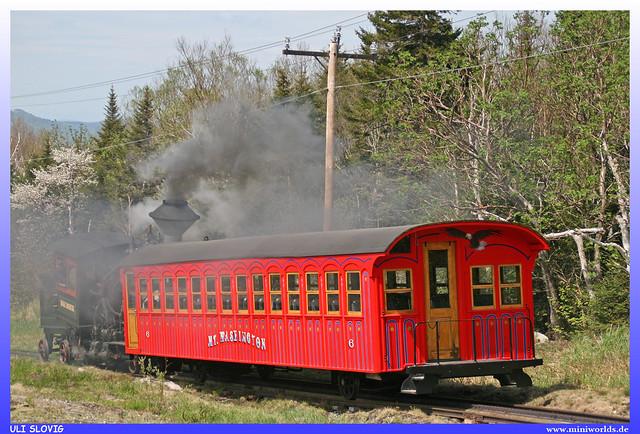 Mt. Washington Cog Wheel Railway