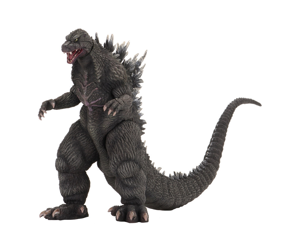 """展現胸前標誌性的傷疤!NECA《哥吉拉×魔斯拉×機械哥吉拉:東京SOS》「SOS 哥吉拉」(Godzilla: Tokyo S.O.S. 6"""" Godzilla)6吋可動作品"""