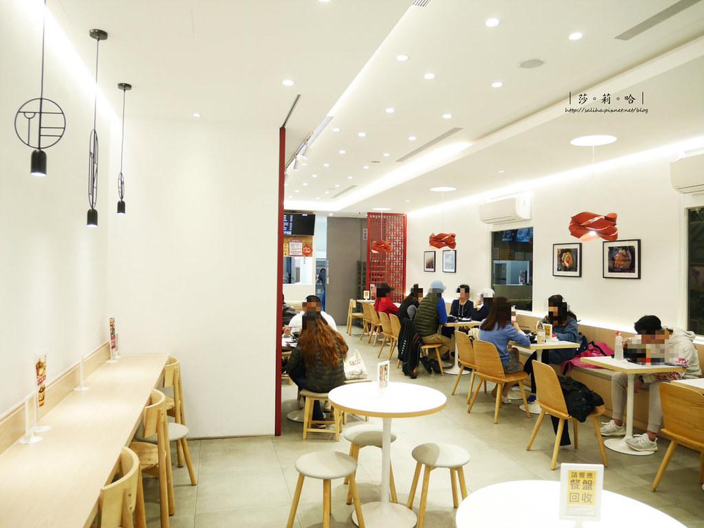 台北士林不限時餐廳推薦梁社漢排骨 外送便當環境優氣氛好 (1)