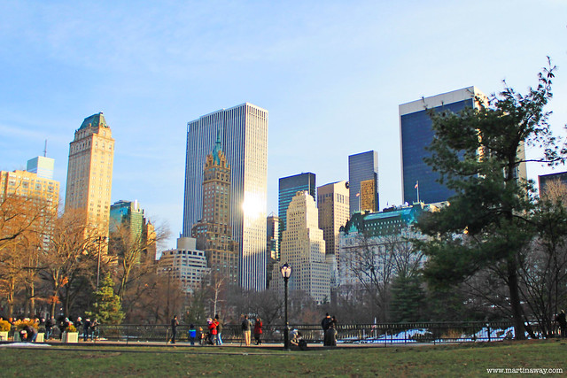 Central Park, serie tv New York