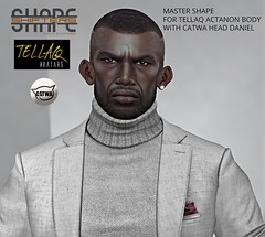 [SHAPEshifters] MASTER SHAPE FOR TELLAQ ACTANON BODY & CATWA DANIEL HEAD (1)