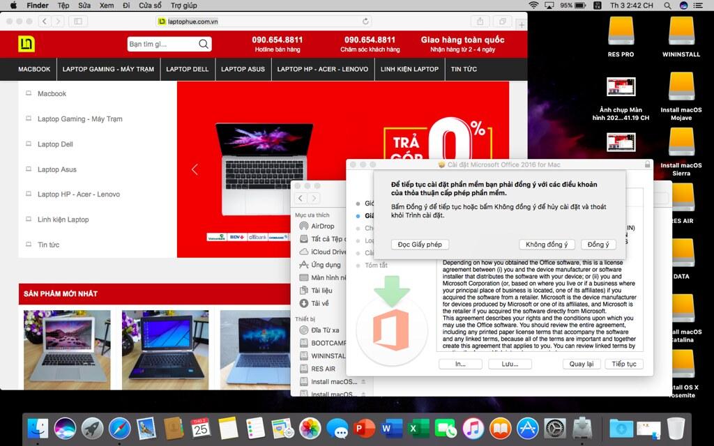 [MacOs] Video hướng dẫn cài đặt Microsoft Office 2016 FullCrack cho Macbook 3