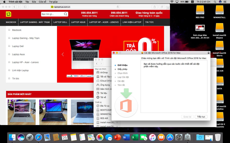 [MacOs] Video hướng dẫn cài đặt Microsoft Office 2016 FullCrack cho Macbook 2