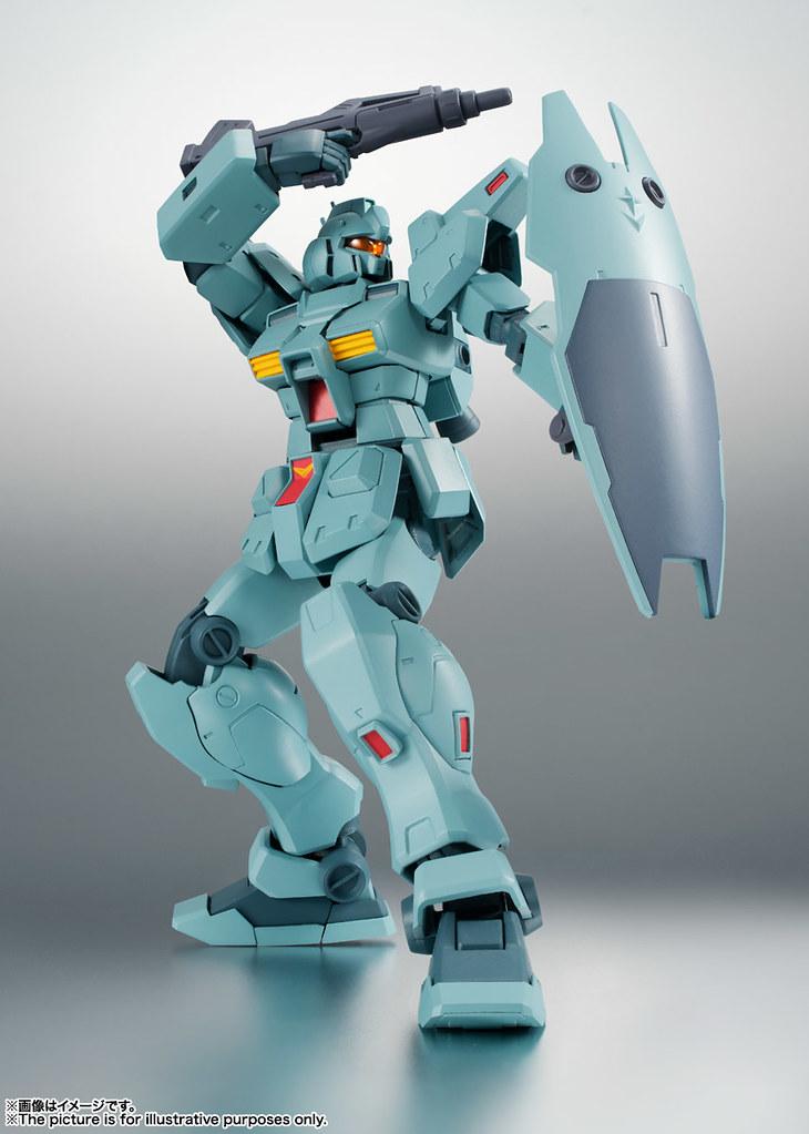 王牌駕駛員專用最強吉姆登場!ROBOT魂《機動戰士鋼彈0083:星塵回憶》RGM-79N 吉姆特裝型(ジム・カスタム)ver. A.N.I.M.E.