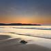 Hot Summer Sunrise Seascape