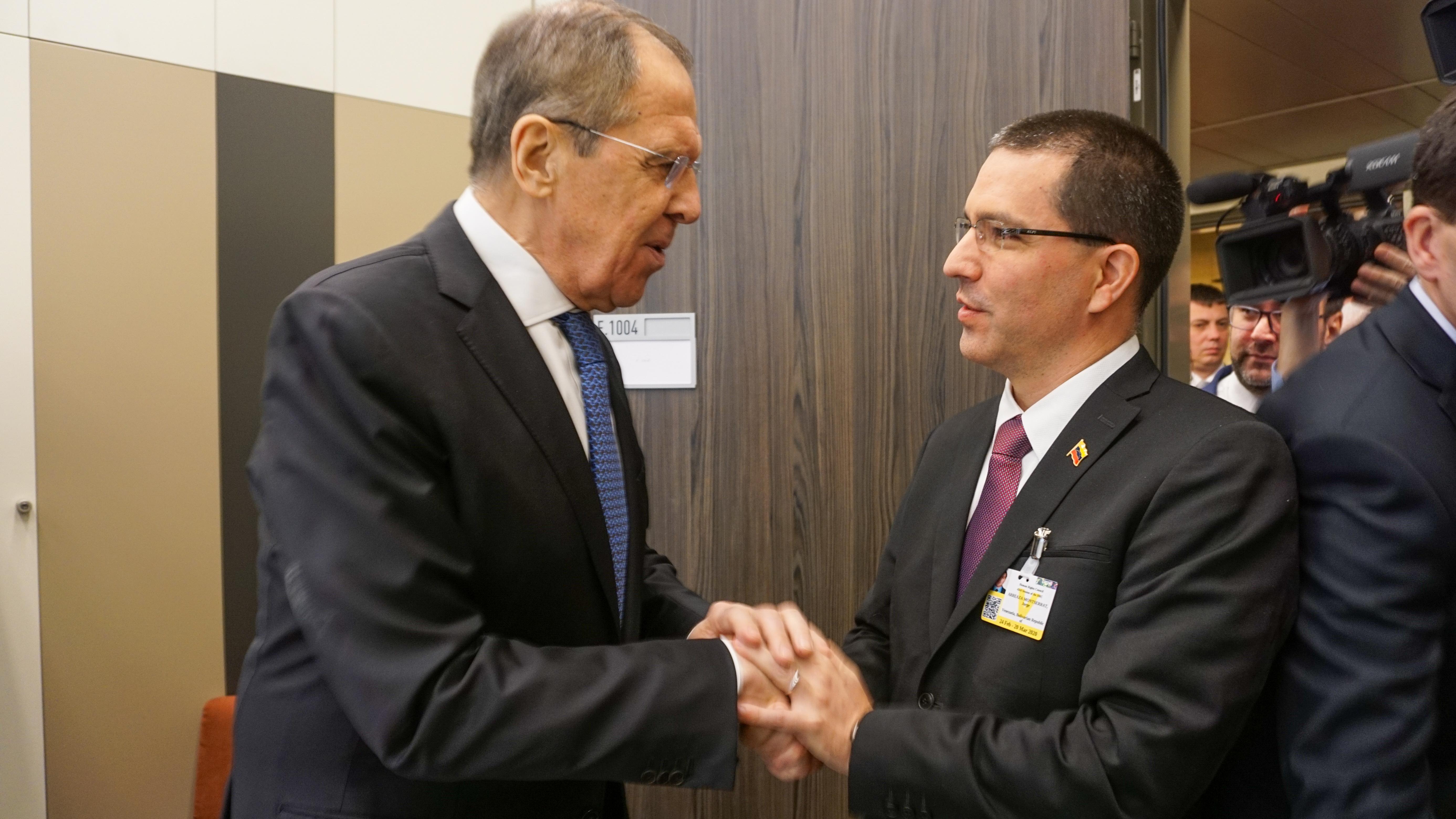 Cancilleres de Venezuela y Rusia sostienen nuevo encuentro en ONU-Ginebra