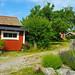 Typical Swedish houses, Österåker, Södermanland, Sweden
