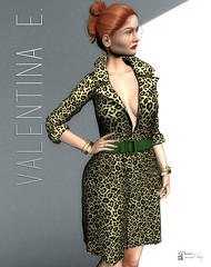 NEW! Valentina E. Ginger Dress @ UBER!