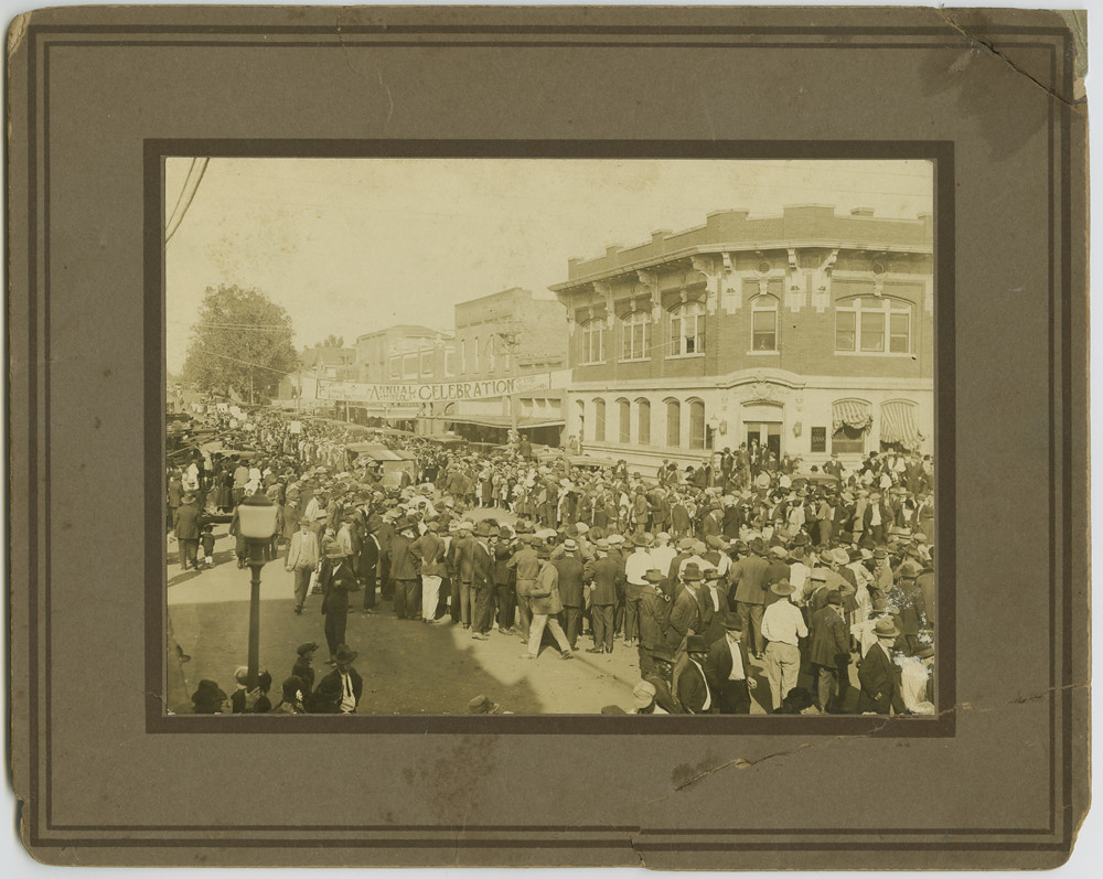 Armistice Day Parade Mineola Texas Creator Unknown Date Flickr