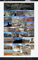 Flickr: Bisti De-Na-Zin Wilderness (Screenshot)