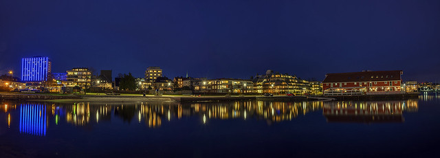 Kristiansand by night