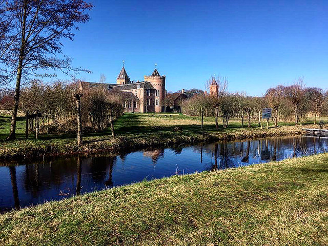 Castle Westhove in Oostkapelle, Zeeland, Netherlands