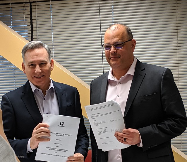 Seattle Building Trades - Master Workforce Agreement