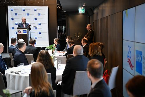 25.02.2020. Valsts prezidents Egils Levits tiekas ar Vācijas–Baltijas Tirdzniecības kameras pārstāvjiem