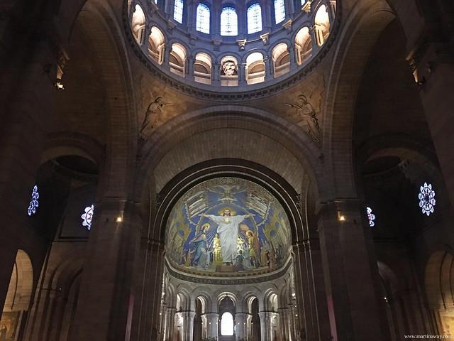 Interno Basilica del Sacro Cuore