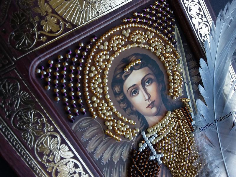 Icone Icona Angelo custode Angels Jewelry gioielli degli angeli quadri e decorazioni con gli angeli