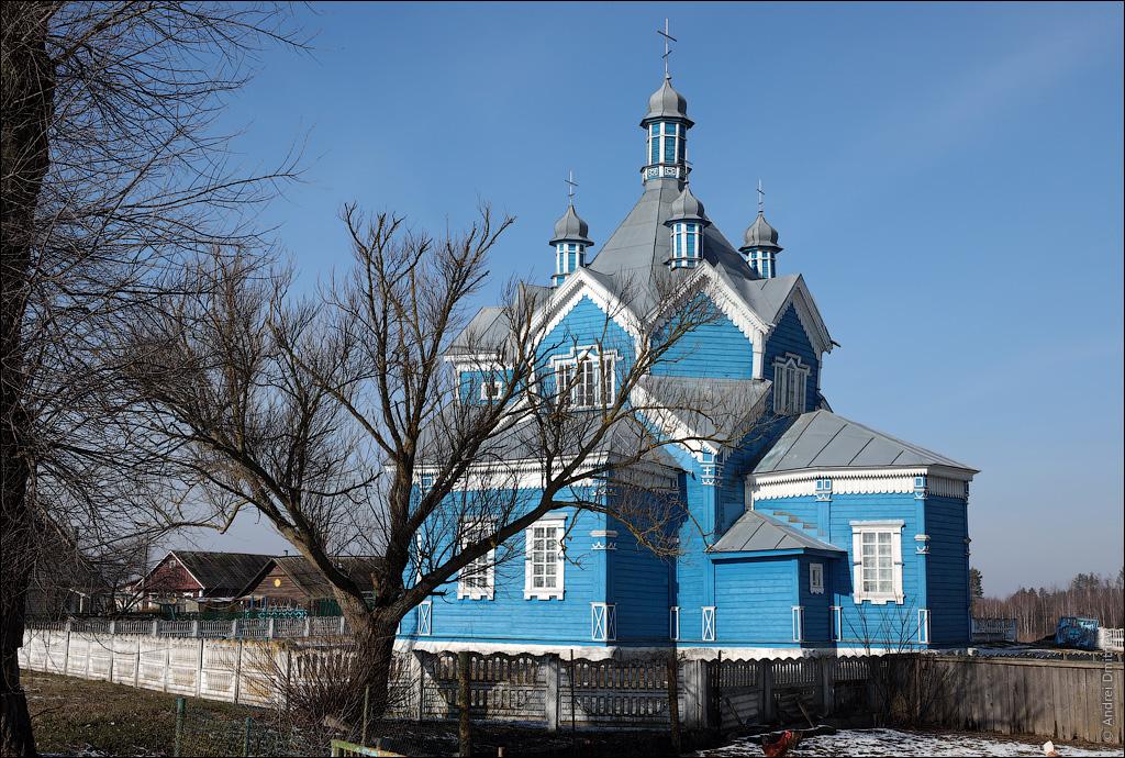 Куноса, Беларусь, Церковь Благовещенская