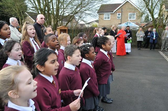 Cardinal Michael Fitzgerald visits Walsall schools