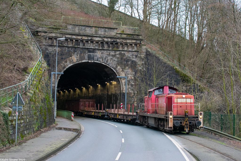 DBC 294 850   Kruiner Tunnel, Gevelsberg