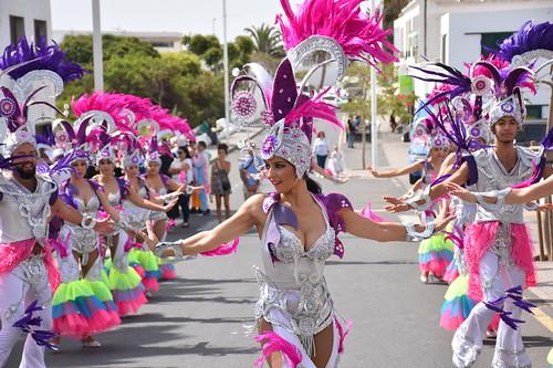 Resultado de imagen de El Carnaval de Día de San Bartolomé, en imágenes