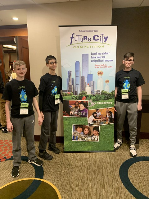 Harding Future City at National Competition