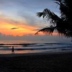 Rising sun upon Uppuveli Beach