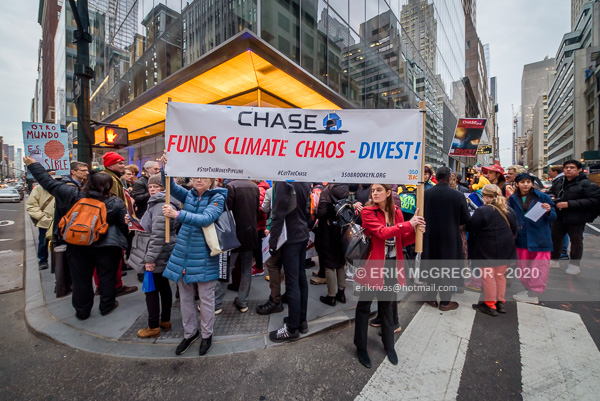 Chase Bank's Investor Day Met With Protest by Climate Activists