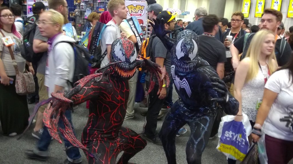 Carnage and Venom, San Diego Comic-Con  7/11/2015