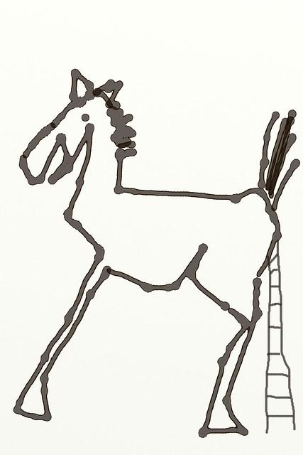 fake horse freedom