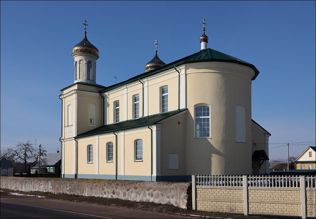 Вишневец, Беларусь, Церковь Рождества Иоанна Предтечи