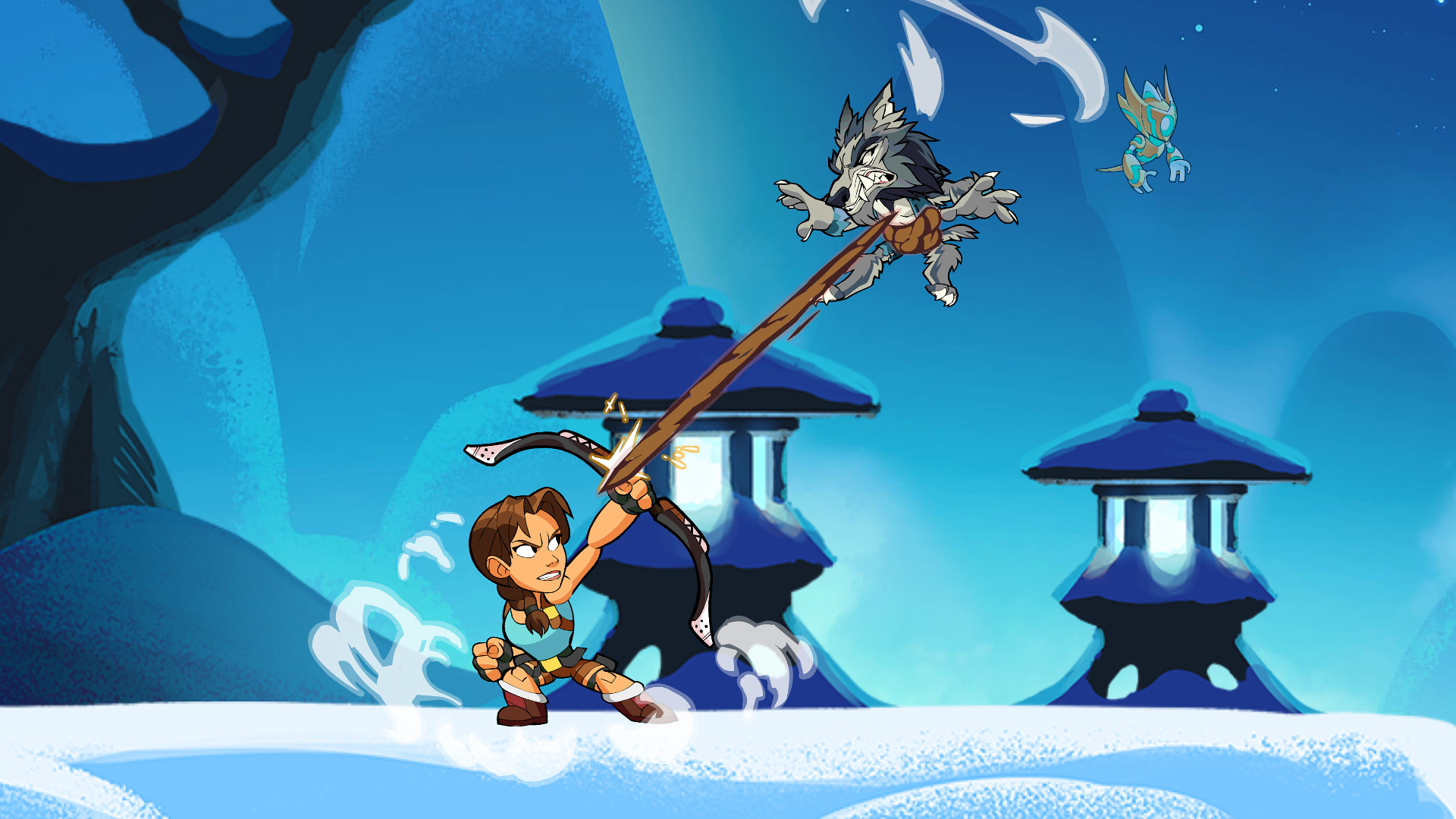 Brawlhalla - Lara Croft on PS4