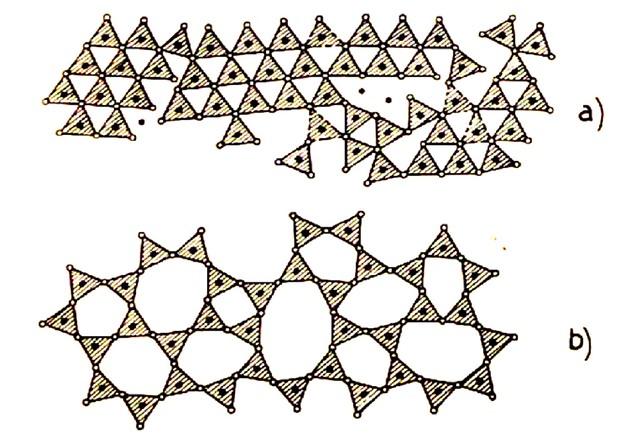 Una delle immagini utilizzate da Adriana per spiegare la particolare natura del processo di vetrificazione.