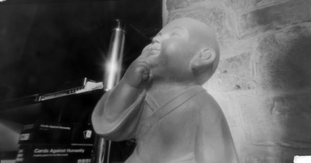 pinhole child Monk