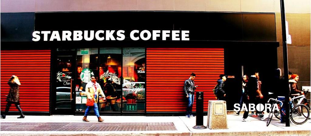 Starbocks Coffee entrada