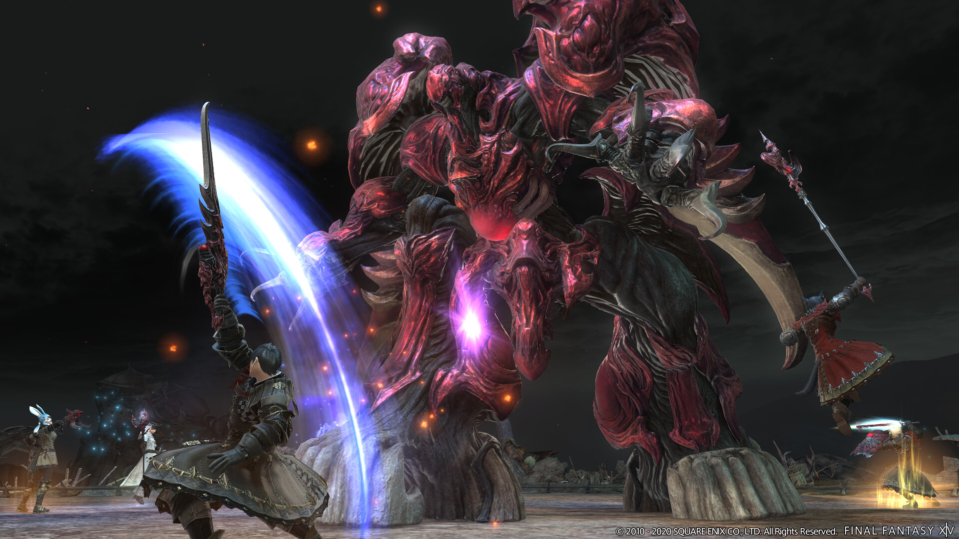 Final Fantasy XIV: Shadowbringers - Ruby Weapon on PS4