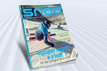 SNOW 123 (březen 2020) - lyžování na jaře i v létě + 3x skipas zdarma