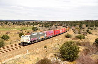 RENFE 251.025 Ávila